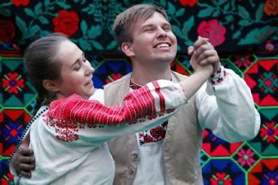 Танцавальная этна-вечарына у філіяле Веткаўскага музея ў Гомелі